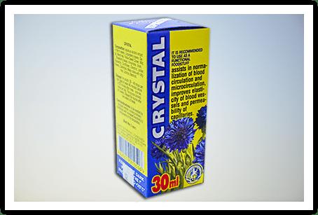 CRYSTAL (кристал) - средство для лечения гипертонии