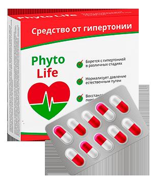 PhytoLife (ФитоЛайф) – капсулы от гипертонии