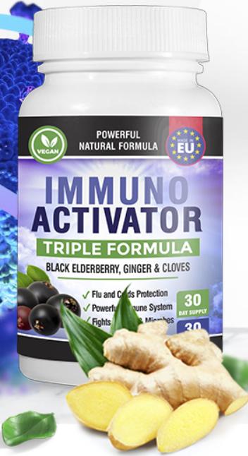 Immuno Activator (Иммуно Активатор) - капсулы для иммунитета