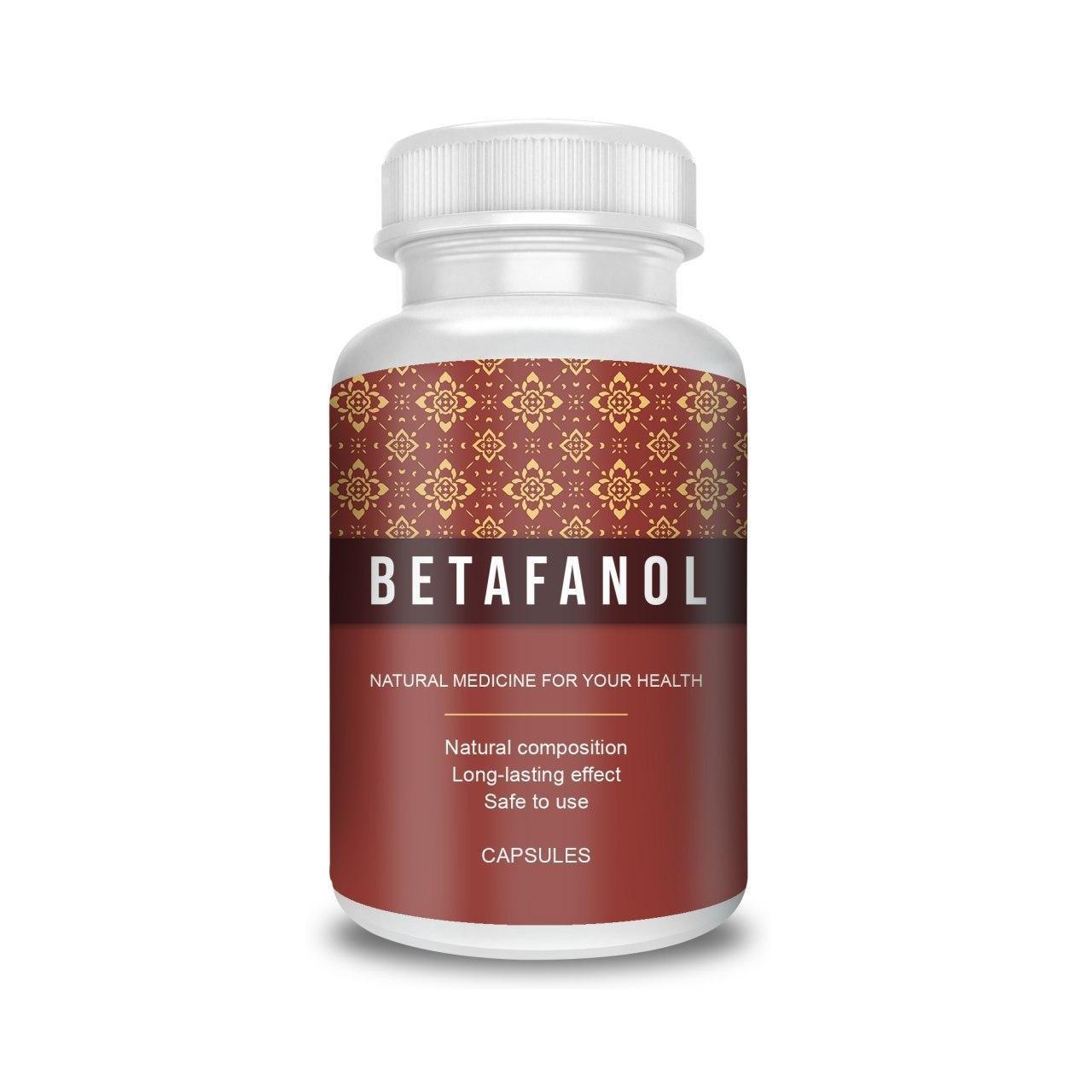 Betafanol (Бетафанол) - капсулы от диабета