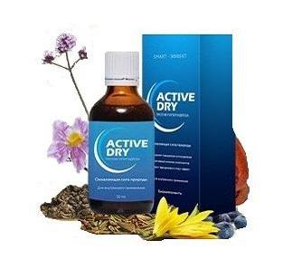 Active dry (Актив Драй) - концентрат от потливости