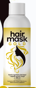 Hair Gold Mask 2X49 (Хайр Голд Маск 2X49) - восстанавливающая маска для волос