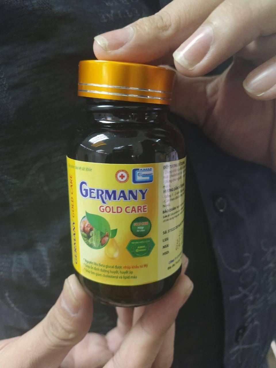 Germany Gold Care (Джермани Голд Кер) - капсулы от гипертонии