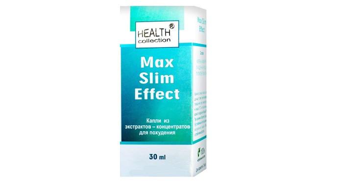 Max Slim Effect (Макс Слим Эффект) - капли для похудения