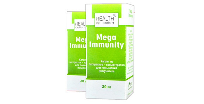 Mega Immunity (Мега Иммунити) - капли для повышения иммунитета