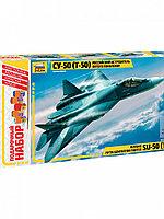 Сборная модель Самолет Су-50 70 дет.7275П Звезда