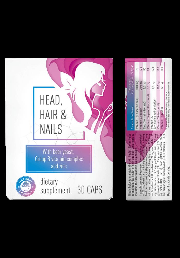Head & Hair & Nail (Хэд анд Хеа энд Нэйл) - капсулы от выпадения волос