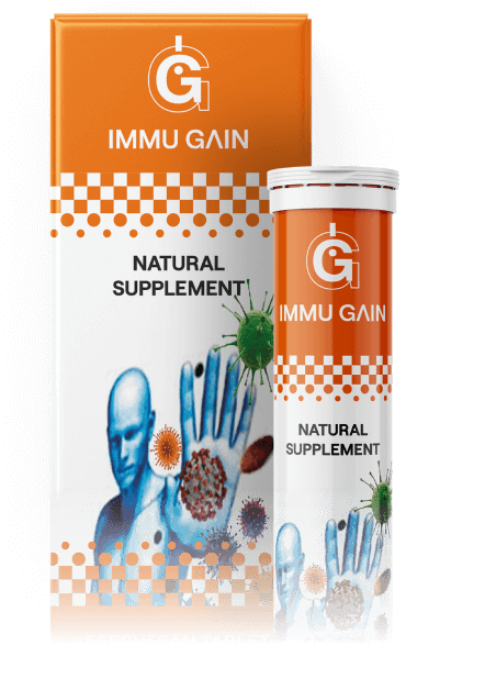 Immu Gain (Имму Геин) - капсулы для иммунитета