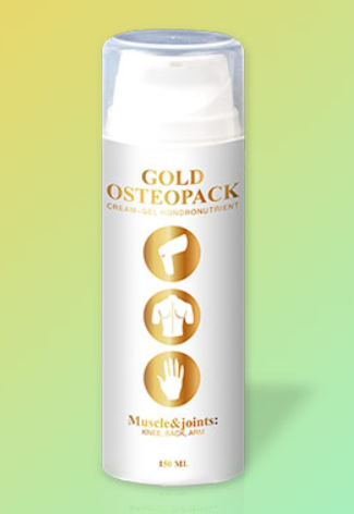 Gold Osteopack (Голд Остеопак) - крем от боли в суставах