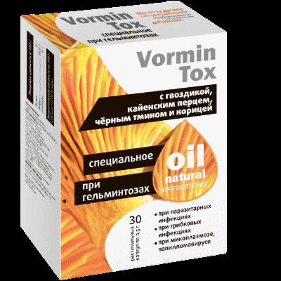 VorminTox (Вормин Токс) - капсулы от папиллом