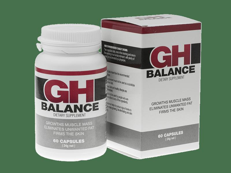 GH Balance (ДжиАш Баланс) - капсулы для мышечной массы