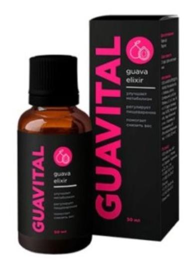 Guavital (Гуавитал) - капли для активного снижения веса