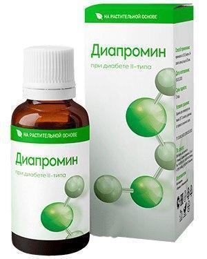 Диапромин - капли для улучшения здоровья диабетиков