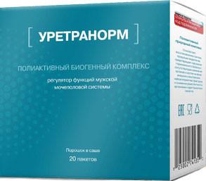 Уретранорм - средство от простатита