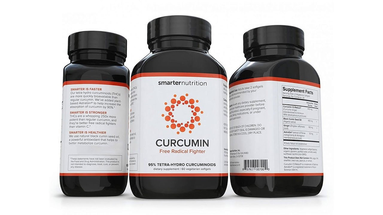Curcumin (Куркумин) - капсулы для суставов