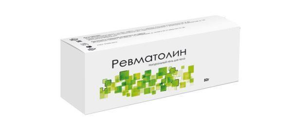 Ревматолин - гель для суставов