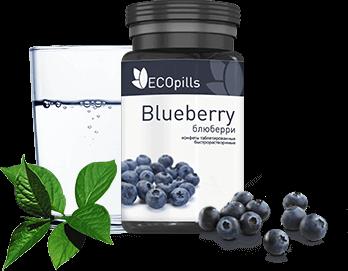 Ecopills Blueberry (Экопиллс Блюберри) - фитотаблетки для зрения