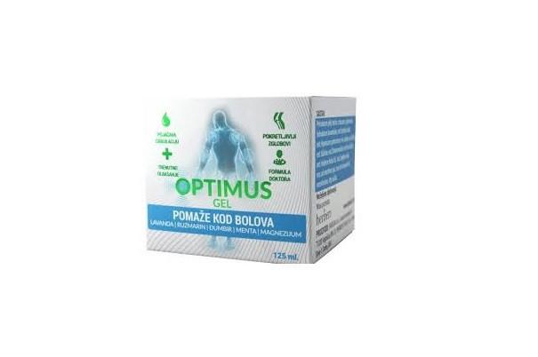 Optimus (Оптимус) - крем для суставов