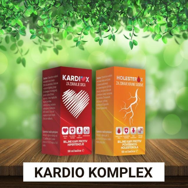 Kardio Komplex (Кардио Комплекс) - капли от повышеного давления
