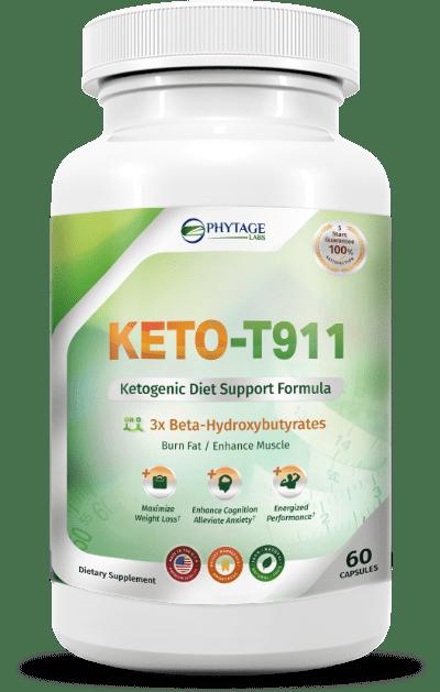 Keto T911 (Кето Т911) - капсулы для похудения