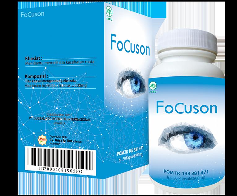 Focuson (Фокусон) - капсулы для улучшения зрения