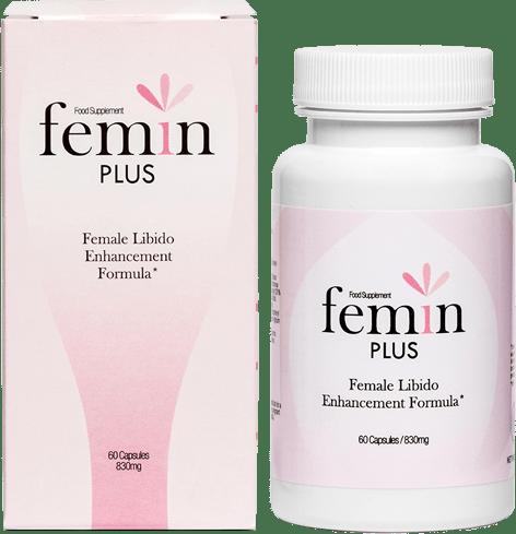 Femin Plus (Фемин Плюс) - капсулы для женского либидо