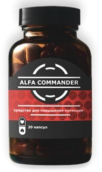 Alfa Commander (Альфа Коммандер) − капсулы для потенции