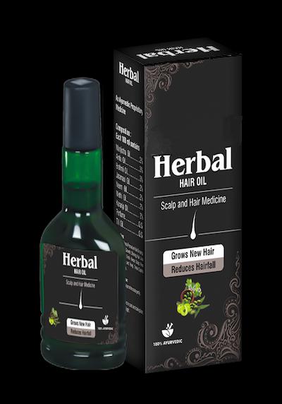 Herbal hair Oil (Хербал Хайр Оил)- спрей против облысения