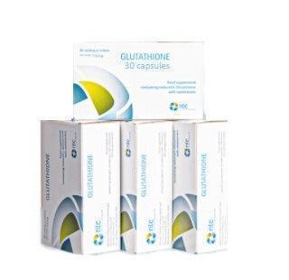 Glutathione (Глютесайон)- капсулы для омоложения и отбеливания кожи