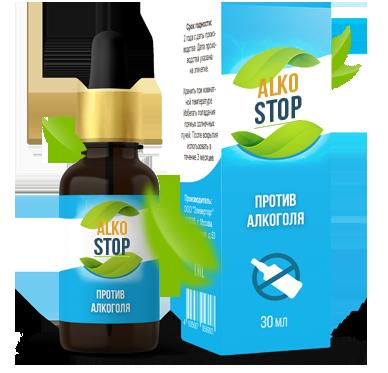 AlkoStop (АлкоСтоп) - капли от алкоголизма