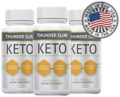 Thunder Slim Keto (Тандер Слим Кето) - капсулы для похудения