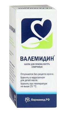 Валемидин - капли от гипертонии