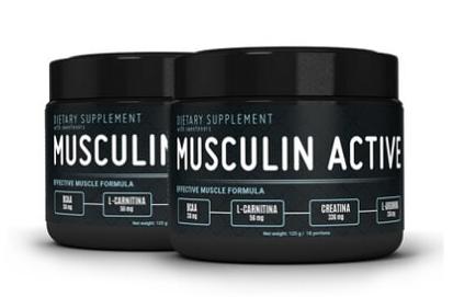 Musculin Active (Мускулин Актив) - порошок для роста мышц