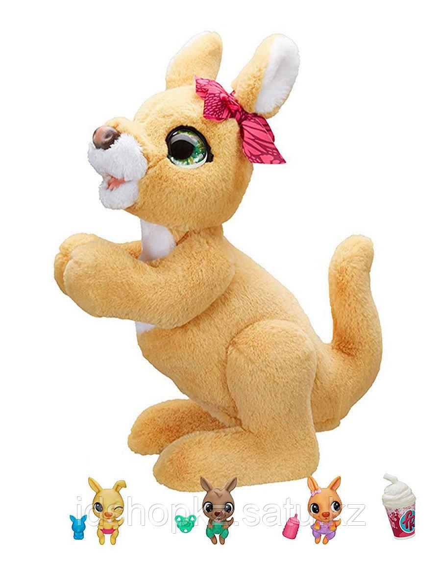Мягкая игрушка FurReal Friends Кенгуру Джози и ее малыши E6724 - фото 1