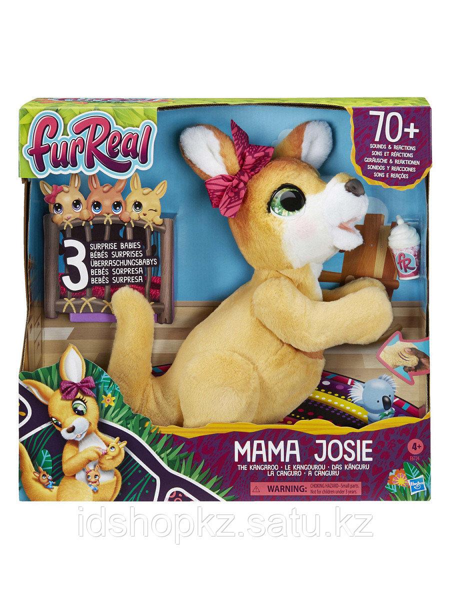 Мягкая игрушка FurReal Friends Кенгуру Джози и ее малыши E6724 - фото 2