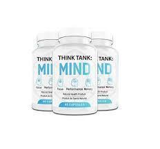 Think Tank Mind (Синк Сэнк Майнд)- капсулы для памяти и повышения концентрации внимания
