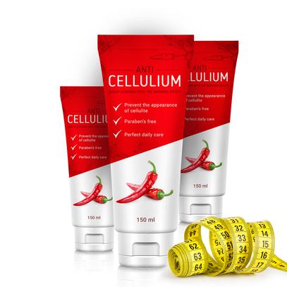 Cellulium (Целлулиум) - крем для похудения с перцем