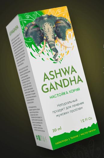 Ashwagandha (Ашваганда) — капли для потенции