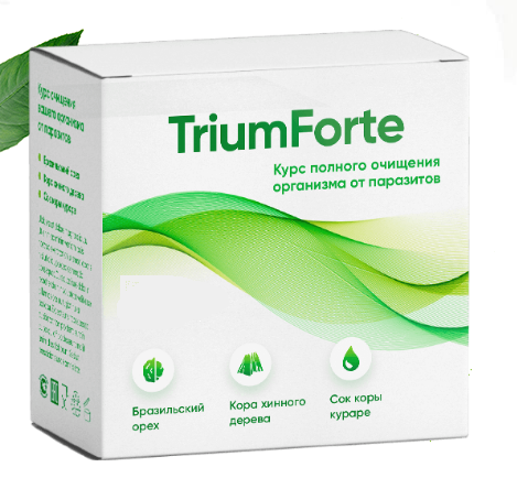 TriumForte (ТриумФорте) - капсулы от паразитов