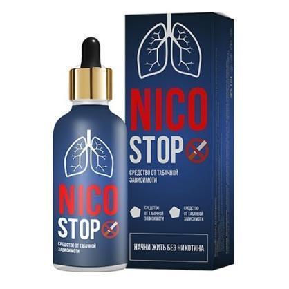 NICOSTOP (Никостоп) - капли от никотиновой зависимости