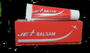 Jet Balsam (Джет бальзам) - заживляющий крем от ран, ожогов, ссадин, пролежней