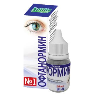 Офтанормин - капли для глаз
