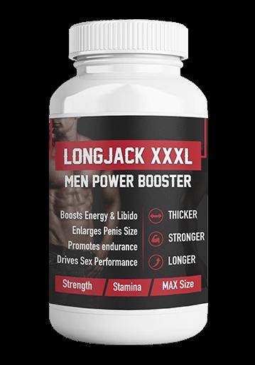 Long Jack XXXL (Лонг Джек 3ИксаЭль)- капсулы для повышения либидо и размера полового