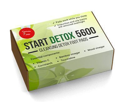 Start Detox 5600 (Старт Детокс 5600)- капсулы для похудения
