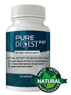 Pure Digest №10 (Пьюр Дайджест №10) — капсулы для иммунитета