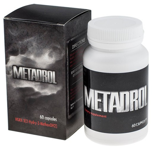 Metadrol (Метадрол)- капсулы для похудения и наращивания мышц