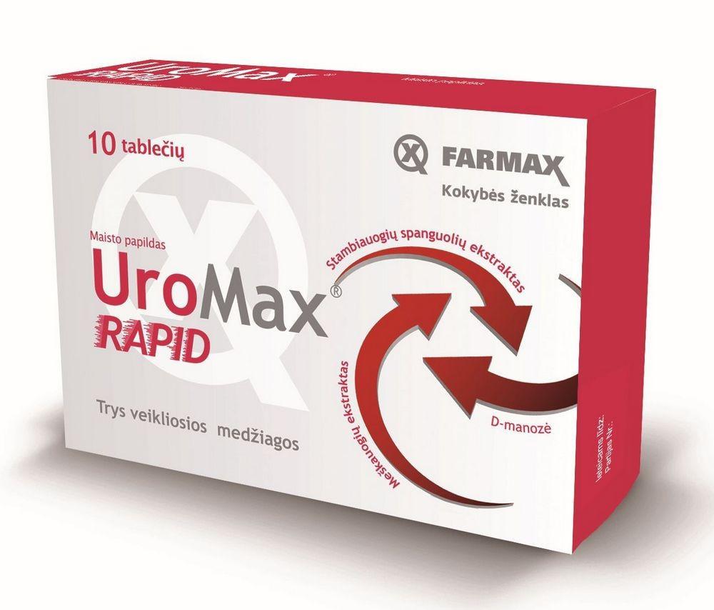 Uromax (Уромакс) - саше для мужского здоровья