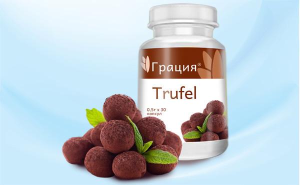Грация Trufel (Трюфель) - шоколадные драже для похудения