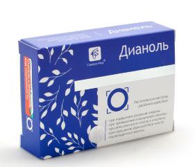 Дианоль - капсулы от диабета