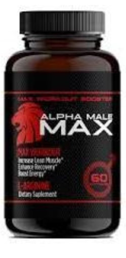 Alpha Male Max (Альфа Мейл Макс) — капсулы для повышения потенции